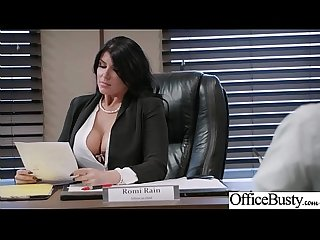 lpar romi rain rpar girl with round big tits in hard style sex in office clip 26