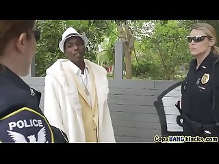 Busty cops sharing long black schlong inng a pimp a ho blackpatrol Hd 72p porn 2