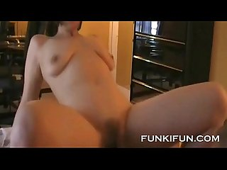 My hot horny stepmom fucks sucks cums with bbc