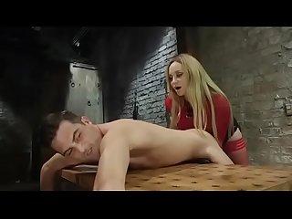 Bdsm femdom strapon fuck