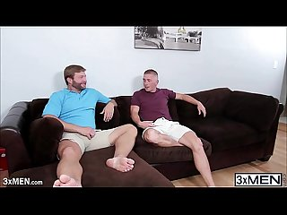 Sweet gay dudes colby jansen and scott riley is enjoying their gay interracial