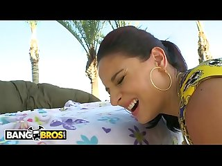 BANGBROS - Sheena Ryder Gets Her Ass Hole Stuffed With Mike Adriano's Cock (Part 1 of 2)