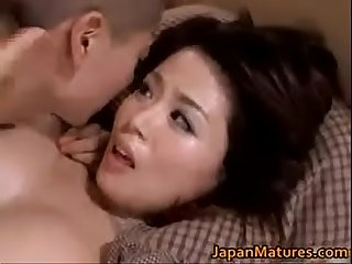 Big boob asian milf miki sato fucks teen stepson Hot uncensored