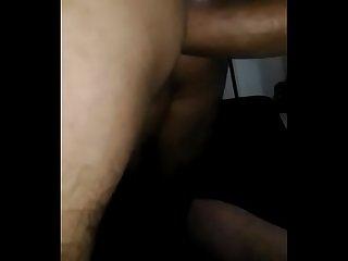 Puta levando leite de 22cm