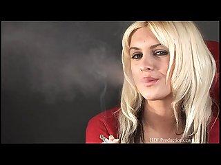 Nikita Love- Smoking Fetish at Dragginladies