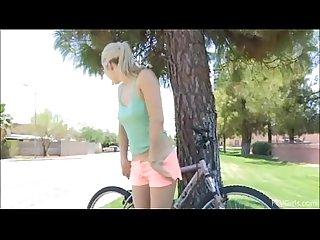 Blondie love bicycle