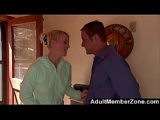 AdultMemberZone - Tiny Sharon Wild Fucks Her Horny Neighbor