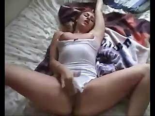 Amateur female orgasms compilation solo masturbation