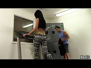 Sabrina banks and talon turn cardio workout into a good fuck hd
