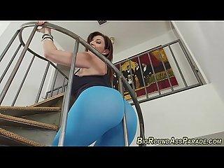 Massive ass milf rides