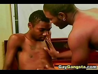Dark Huge Cock Penetrate Ghetto Gay Asshole