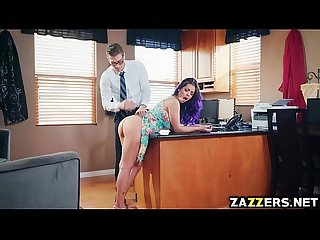 Yurizan beltran anal fuck so hard by her therapist
