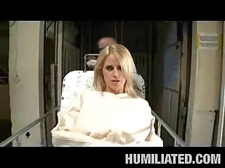 Girl in straitjacket fucked