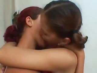 Julia & Mary Castro - Lesbian Makeout Session 2 #1