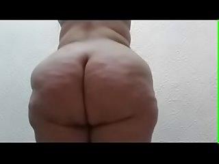 Fat white sexy bbw booty get whipped good