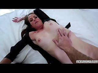 After having an awesome bathroom sex with her stepmom Sofie Marie,hot stepson Wrex Oliver is..