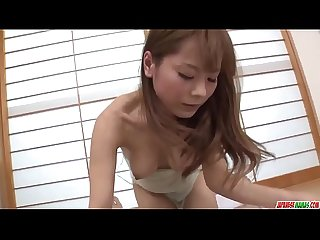 Anri Sonozaki slams cock down in sloppy modes - More at Japanesemamas.com