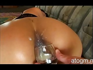 BEST SCENE - Jade Marcella Drinks Her Own Anal Creampie!..