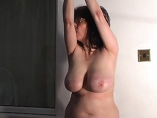 Mature tit whipping