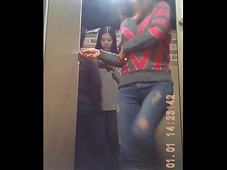 Spy cam on Korean restroom 66 87