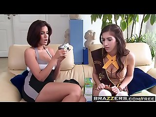 (April ONeil, Isis Taylor, Madison Ivy) - two shoolgirls and a milf - Brazzers