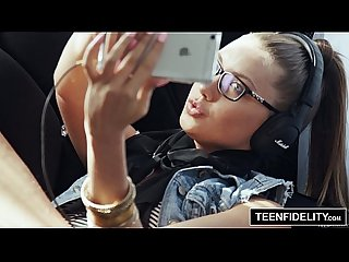 Teenfidelity hipster chick Elena koshka filled with cum