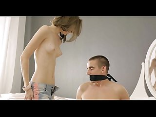 Hot legal age teenager massaged and drilled