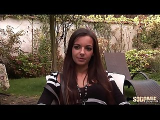 Sophia Laure, son premier casting porno !