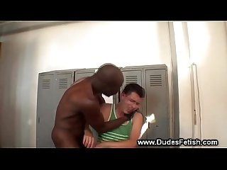 White guy made to smell black guys underwear