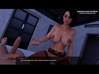 Hot romantic sex with a gorgeous stepmom who loves when her wet tight pussy gets fucked with a..