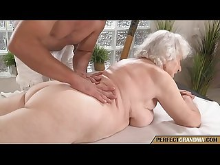 a massage for the granny