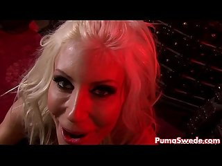 Euro hottie puma swede sucks till facial excl