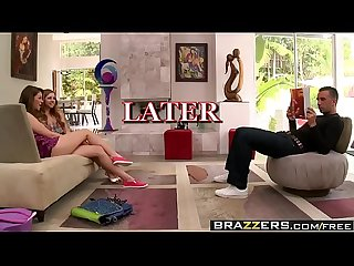 Brazzers - Teens Like It Big - The BJ Bonanza scene starring Jessie Andrews Lexi Belle and Keiran Le