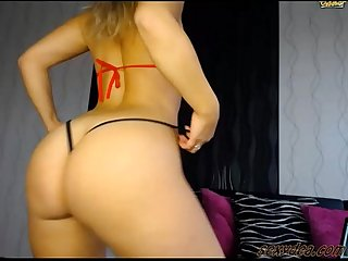 Thick white booty Pawg Snowbunny Twerking sexy ass by sexydea