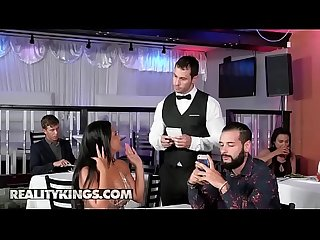 (Rose Monroe, Duncan Saint) - Tip The Waiter Again - Reality Kings