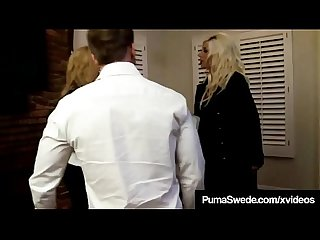 Swedish star puma swede Kelly madison blow hubby