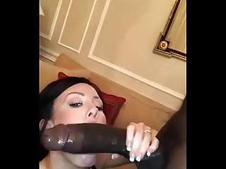 Wife suck big black dick