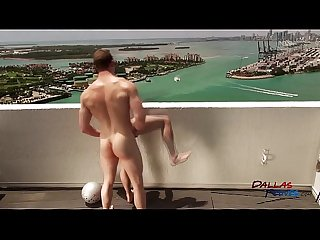 s 5 bareback penthouse pool fuck featuring johnny forza and robbie rivers