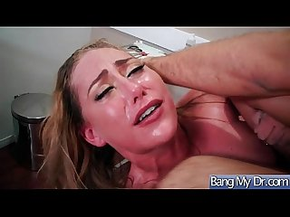 Hard bang action between doctor and slut horny patient carter cruise vid 07