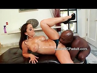 Hot liza gets fucked by a big black cock
