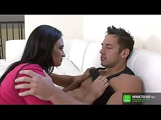 Espanol - Spainish Hot Black hair latine fuck younger boy big ass latina with Claudia Valentine