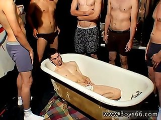 Gay orgy men jerking men frat piss kaleb scott