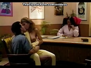 Blondi, Tony Montana in classic pornstars have wild sex in the office