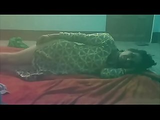 Indian reena Randi red sari sexy talk in Hindi language