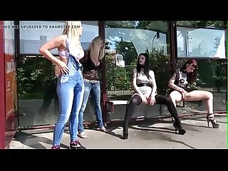 More Mom Milfs Pissing in Bustop. See pt2 at goddessheelsonline.co.uk