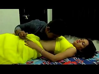 Young Indian Milf enjoying with Call boy
