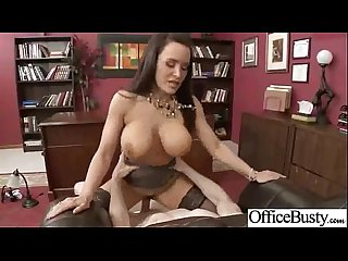 Sexy girl lpar Lisa ann rpar with big juggs love get banged hard in office movie 21