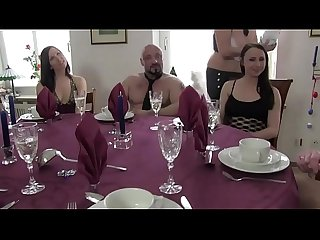 Real Amateur - My mother organizes sex parties, with friends and friends..