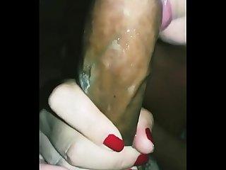 Esposa safada Chupando gostoso meu pau