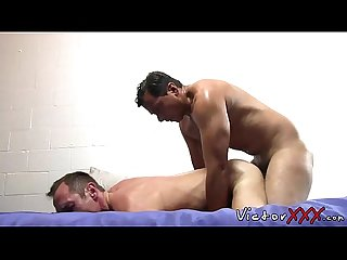 Daddies with big dick have bareback hardcore sex